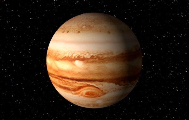 Júpiter con ciclones