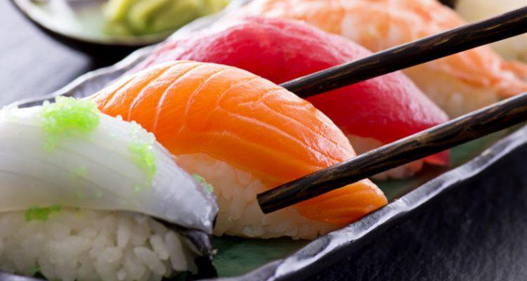 Sushi difícil cocinar