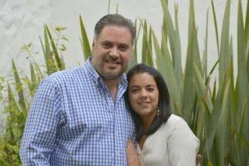 Manuel Pozo festeja en familia
