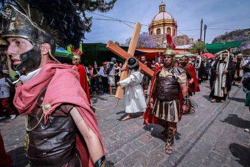 Vía Crucis de la Cañana, más de 150 años de representaciones