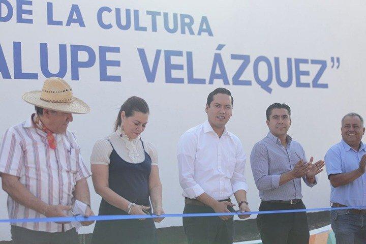 Listo el CDH Casa de Cultura José Guadalupe Velázquez  en Corregidora