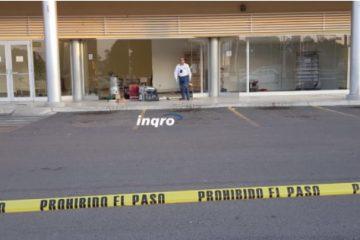 Roban cajero en Soriana