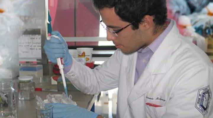 Estudiantes de ingeniería en biotecnología de la Facultad de Química de la UAQ diseñaron un biopolímero con base en subproductos de la agroindustria para la fabricación de bolsas de plástico degradables.