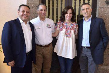 Coordinará Braulio Guerra redes de afinidad para Pepe Meade en la región