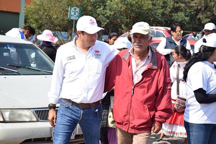 Afirma Ernesto Luque que en Amealco quieren mayor seguridad y más oportunidades