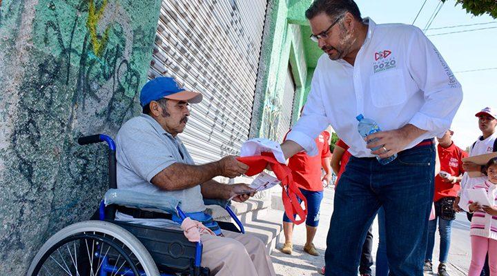 Valores y esfuerzo, legado que nos heredan nuestros adultos mayores: Manuel Pozo