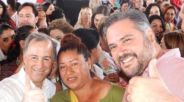 Respalda José Antonio Meade a Manuel Pozo para construir preparatoria en Buenavista
