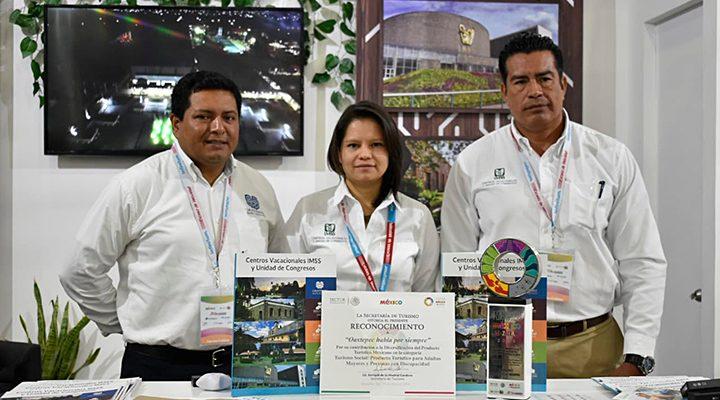 Reconocen al Centro Vacacional Oaxtepec como mejor producto de turismo social