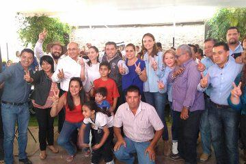 Cierran filas panistas de Corregidora con Roberto Sosa