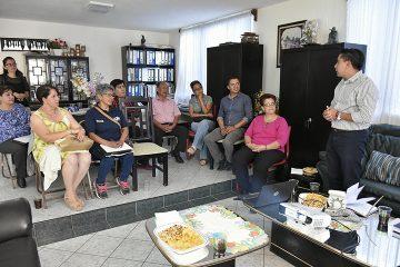Escucha Roberto Sosa la voz de líderes ciudadanos