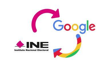 Colaboran INE y Google para mantener informada a la ciudadanía sobre elecciones
