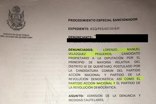 Denuncias a Manuel Velazquez por actos anticipados de campaña, podría ser inhabilitado