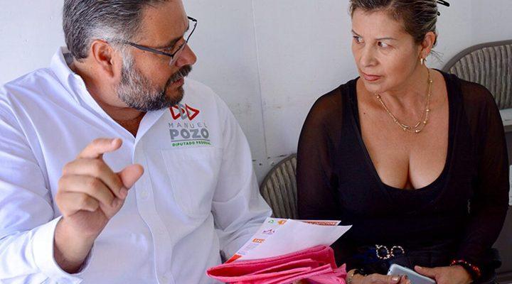 Denuncia Manuel Pozo que familias sufren por falta de escuelas para sus niños