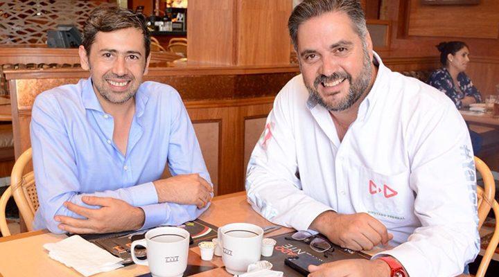 Manuel Pozo se reúne con especialista de movilidad y transporte de la UAQ