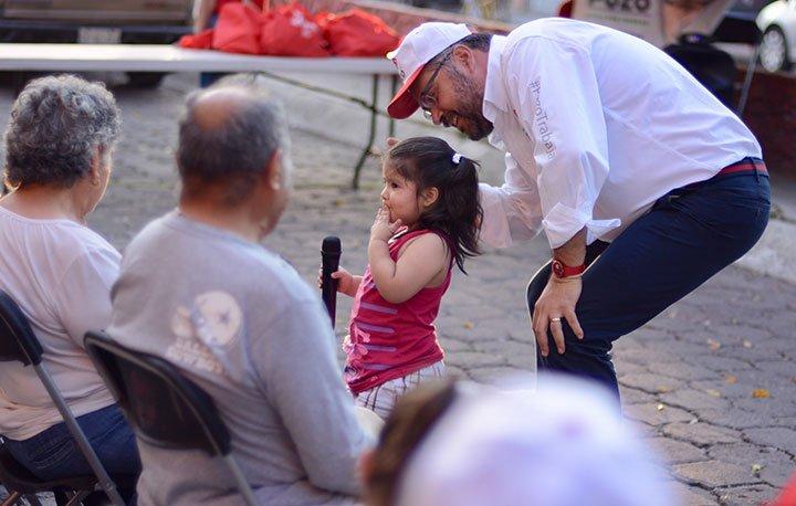 Proteger a la niñez, será una constante en mi agenda legislativa: Manuel Pozo