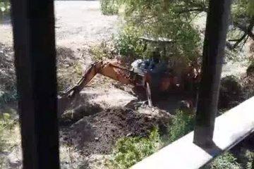 Denuncian posible construcción de casas sobre dren del Arenal