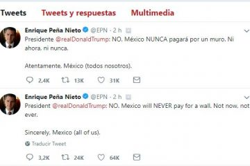 Mexico will NEVER pay for a wall. Not now, not ever: EPN