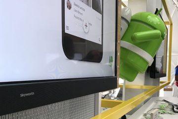 Presenta Skyworth su televisor Android 4K de 100 pulgadas