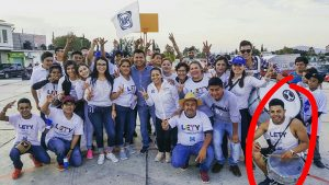 Actos vandálicos en acto de campaña de Celia Durán, encienden fogata en mitin